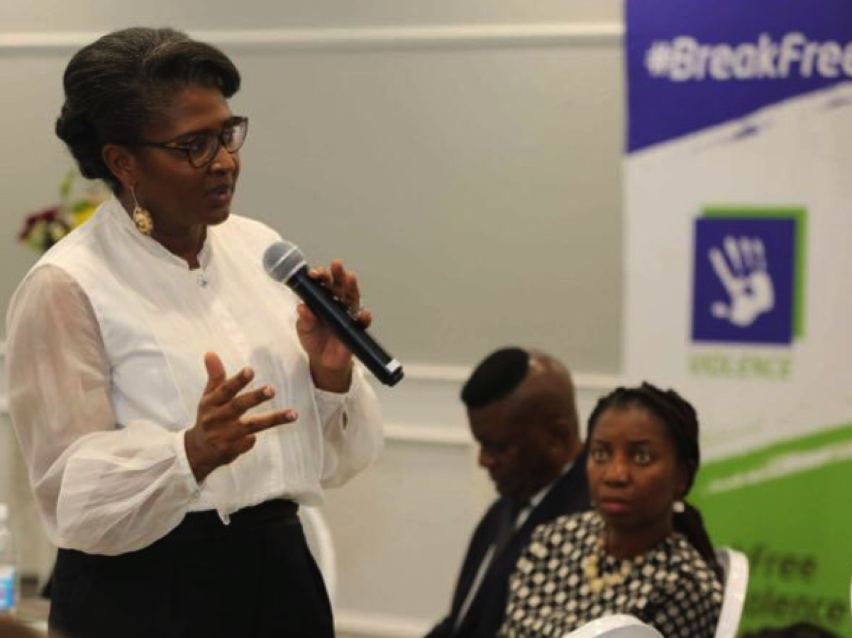 Namibia's First Lady, Monica Geingos urges media not to justify GBV.