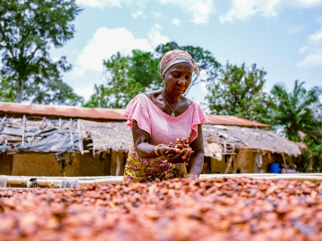 Meet the best female cacao farmer in Côte d'Ivoire