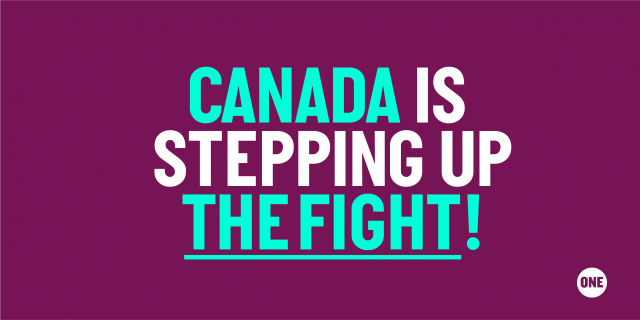 Canada Stepped Up In The Fight Against AIDS, TB and Malaria