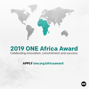 5 reasons you could be the next winner of the $100,000 ONE Africa Award
