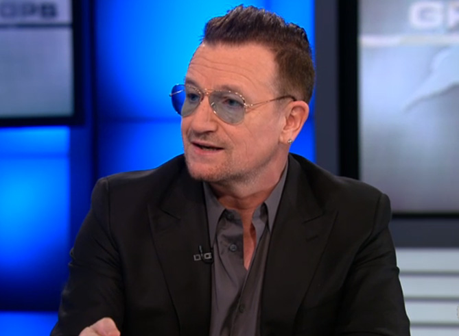 "Bono: ""Information, and the knowledge that flows from it, has enormous power to challenge inequality"""