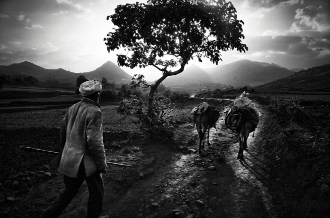 Ethiopia's Simien Mountains: amazing black and white photography
