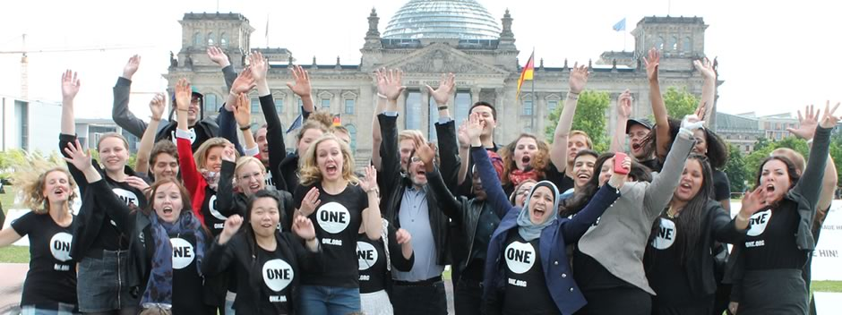 ONE Youth Ambassadors in Berlin