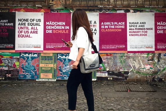 Zó ziet ongekend activisme voor 130 miljoen meisjes eruit