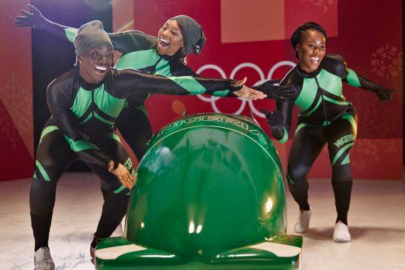 Nigeria's eerste bobslee team gaat naar de Olympische Winterspelen 2018