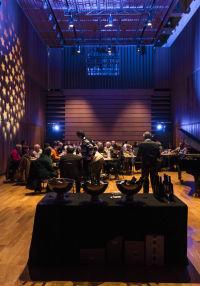 Maridatge de música jazz i vi a L'Auditori