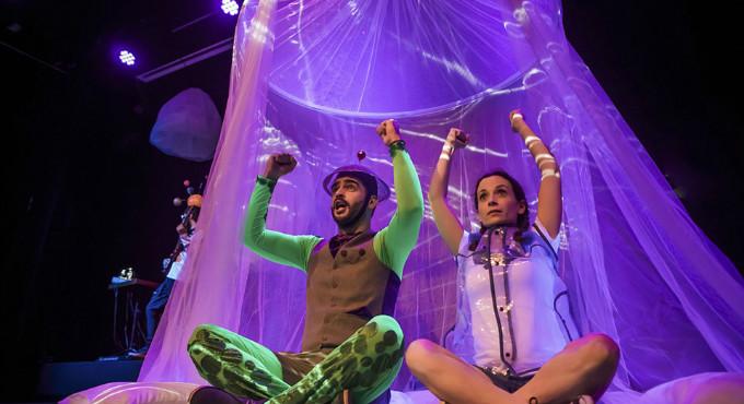 Carlota: Odisea en el Espacio en Madrid (Teatros Luchana)