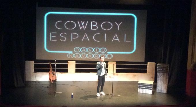 Cowboy espacial de David Navarro en Madrid (Teatros Luchana)