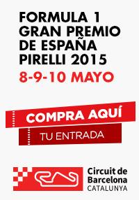 F1 Gran Premio de España Pirelli 2015