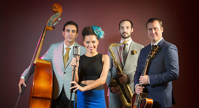 Entradas Saphie Wells & The Swing Cats