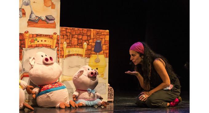 Els Porquets es caguen de por a Barcelona (Jove Teatre Regina)