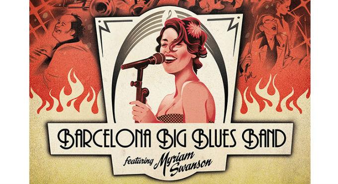 Myriam Swanson & Barcelona Big Blues Band (Sala Jamboree)