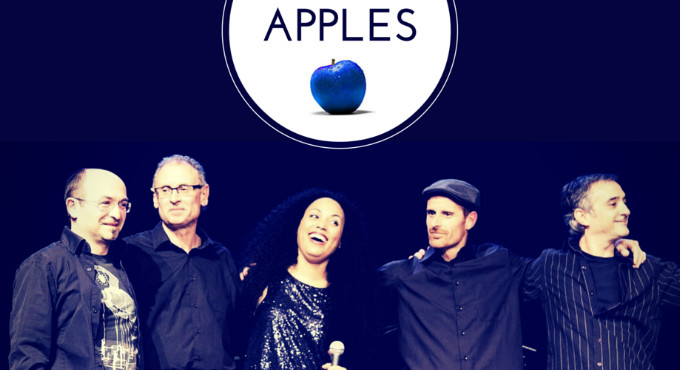 Blue Apples en Barcelona (Sala Jamboree)
