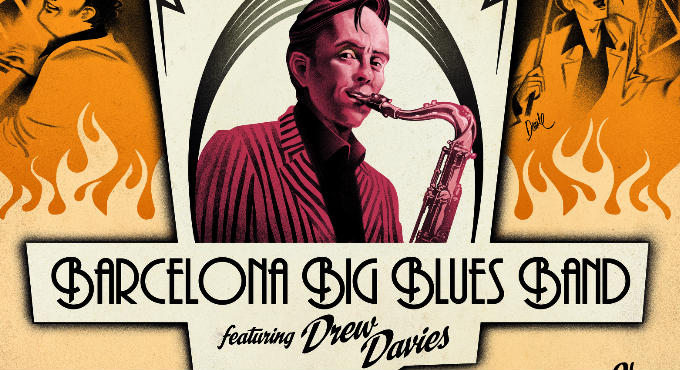 Barcelona Big Blues Band ft Drew Davies (Sala Jamboree)