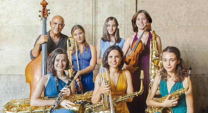 La Magia de la Veu & Jazz Ensemble en Barcelona (Jamboree)