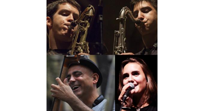 Two Tenors and Joana Casanova en Barcelona (Sala Jamboree)