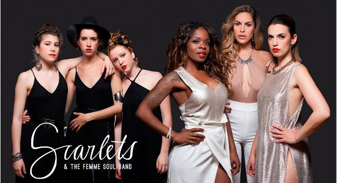 Scarlets & The Femme Soul Band en Barcelona (Sala Jamboree)