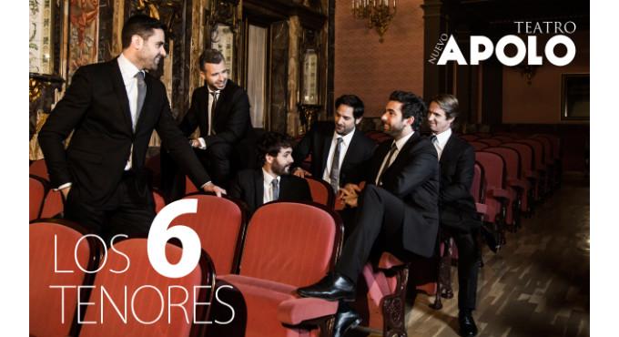 Entradas para Los 6 Tenores en Madrid (Teatro Nuevo Apolo)