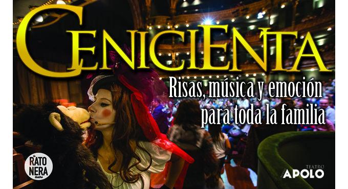 El musical La Cenicienta en Madrid (Teatro Nuevo Apolo)