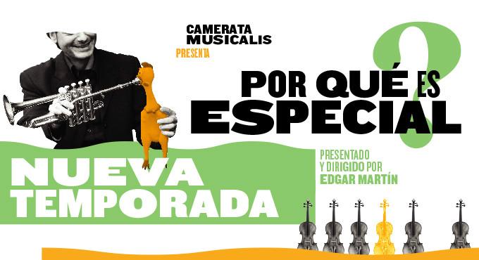 Entradas para ¿Por qué es especial? - Camerata Musicalis en Madrid (Teatro Nuevo Apolo)