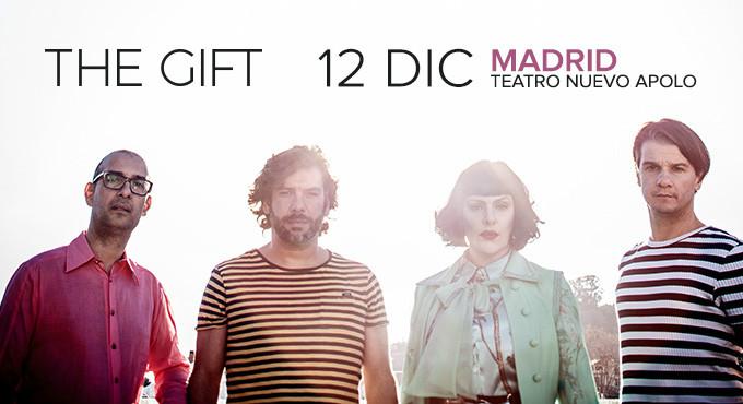 Concierto The Gift en Madrid (Teatro Nuevo Apolo)
