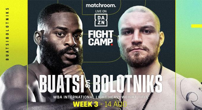 Watch Joshua Buatsi vs. Ricards Bolotniks 8/14/21 Full Show Online