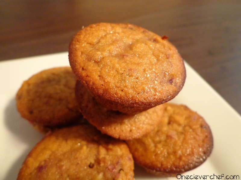Lemon Raspberry & Coconut Flour Muffins With Roasted Almonds