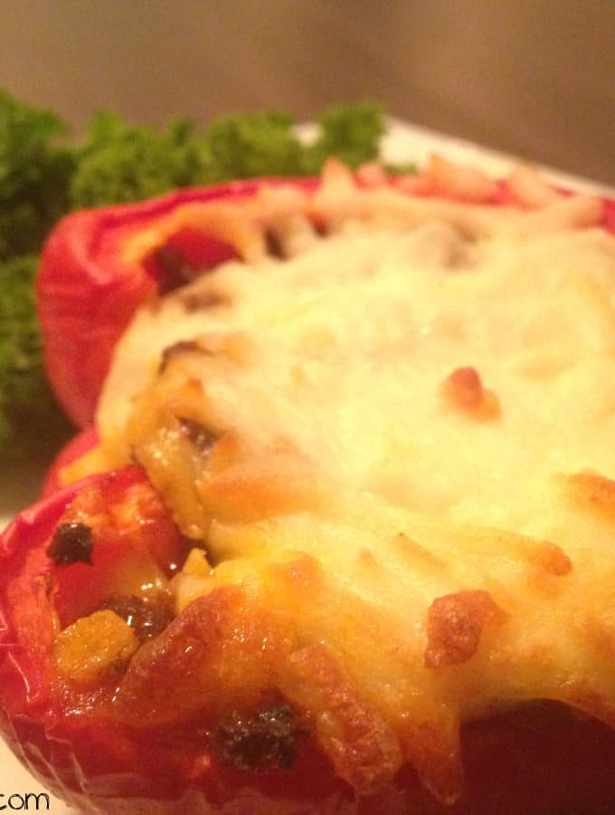 Mexican-Style Stuffed Bell Peppers With Ground Turkey