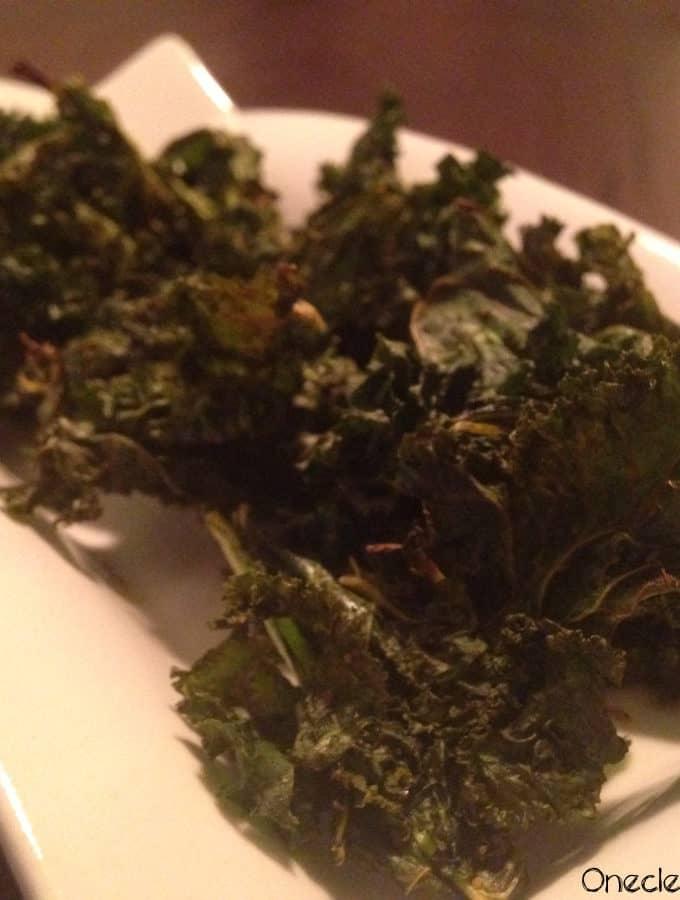 Lemon & Black Pepper Kale Chips