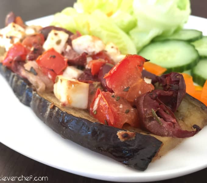 mediterranean eggplant crust pizza-1