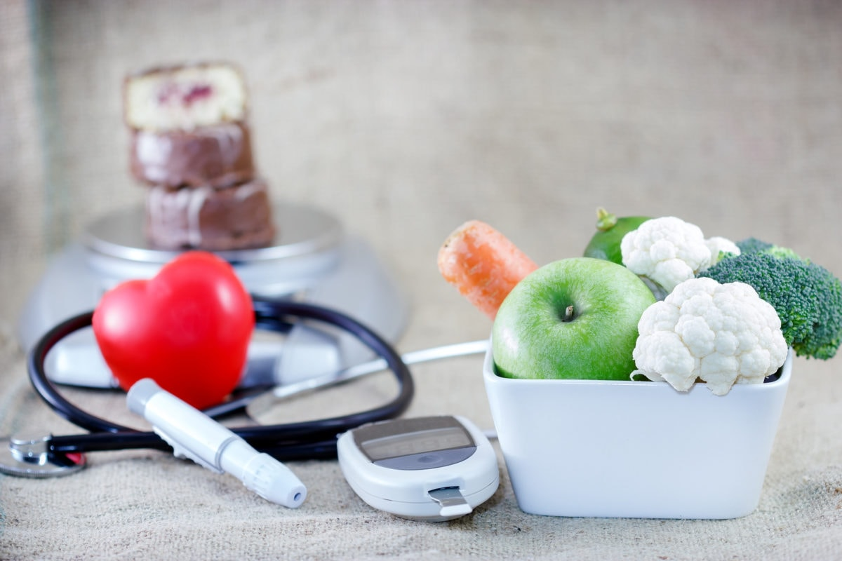 Proper and balanced diet to avoid diabetes
