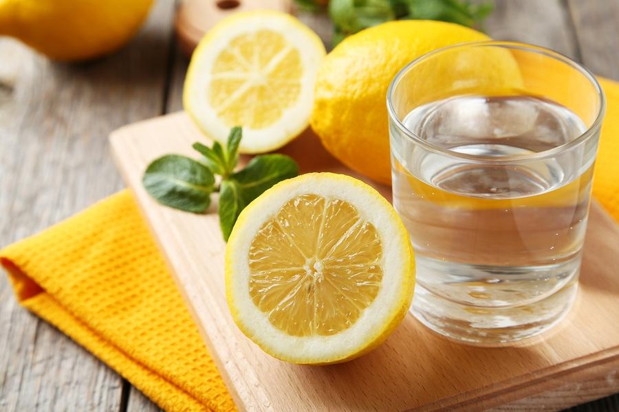 Image result for lemon water