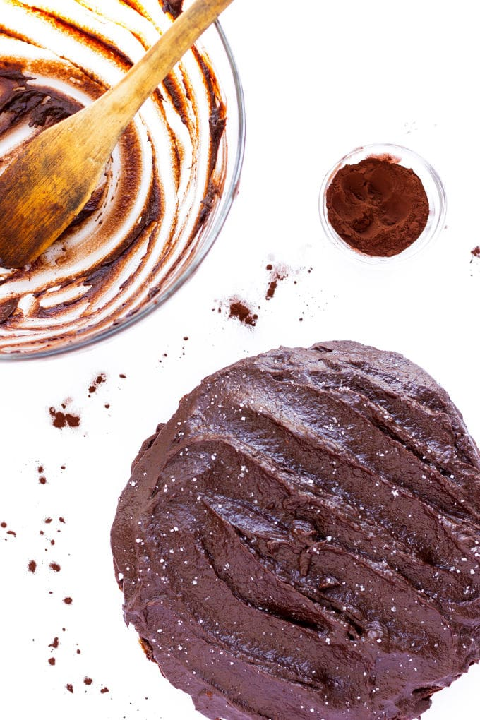 This healthy and decadent double chocolate chia cake is made of 100% real food ingredients. It is extra moist, rich and bursting with flavor. Easy to make, this delicious and versatile dessert is perfect for the novice baker. It is also paleo, gluten-free, eggless and flourless making, it the perfect guilt-free dessert or snack. With added protein, this recipe is also perfect as a post-workout treat.   www.onecleverchef.com