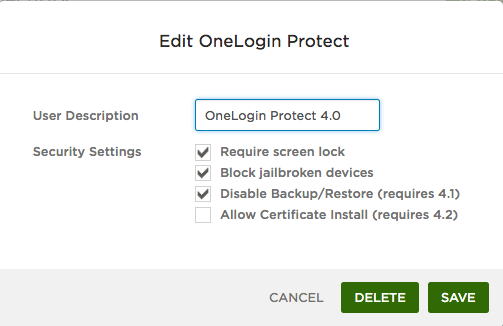 OneLogin Service System