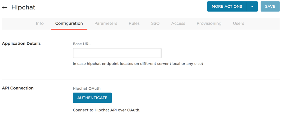 Provisioning for HipChat – OneLogin Help Center