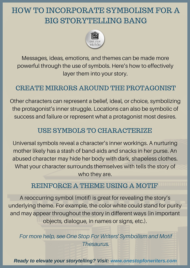 Checklists and tip sheets one stop for writers symbolism thesaurus tutorial buycottarizona