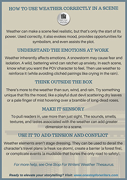 Weather thesaurus