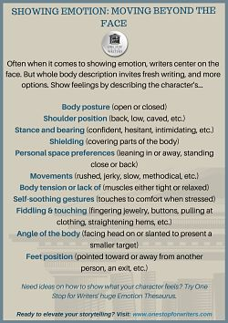Character body language