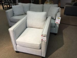 Sofa + Chair - Reg: $2838 Tent Sale: $1388