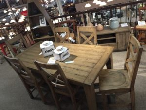 Table + 6 Chairs, Reg: $1879 Tent Sale: $988