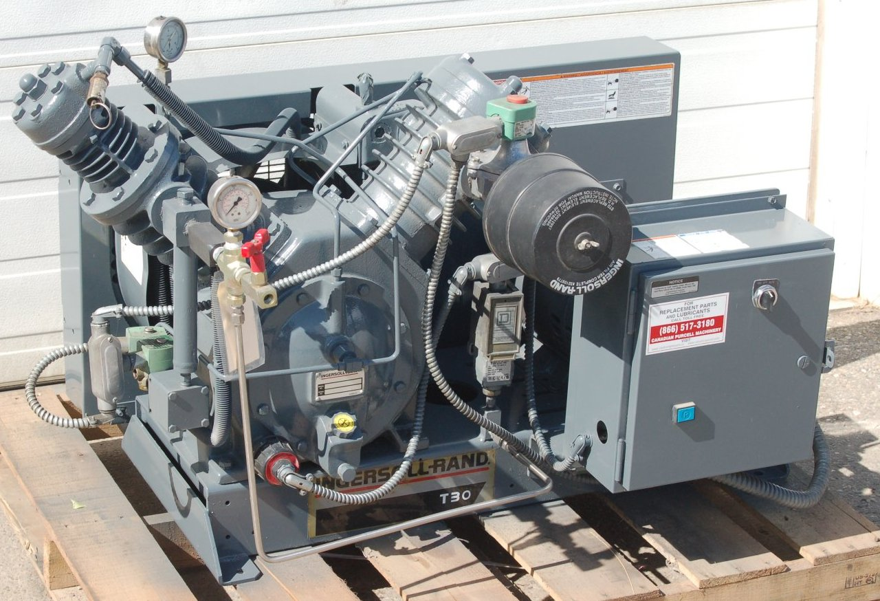 11470 Reconditioned Ingersoll Rand Model 7t2 500 Psig