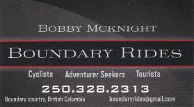 Boundary Rides