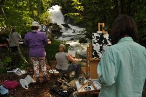 Pleine Aire Painting Workshop -Wiltzen
