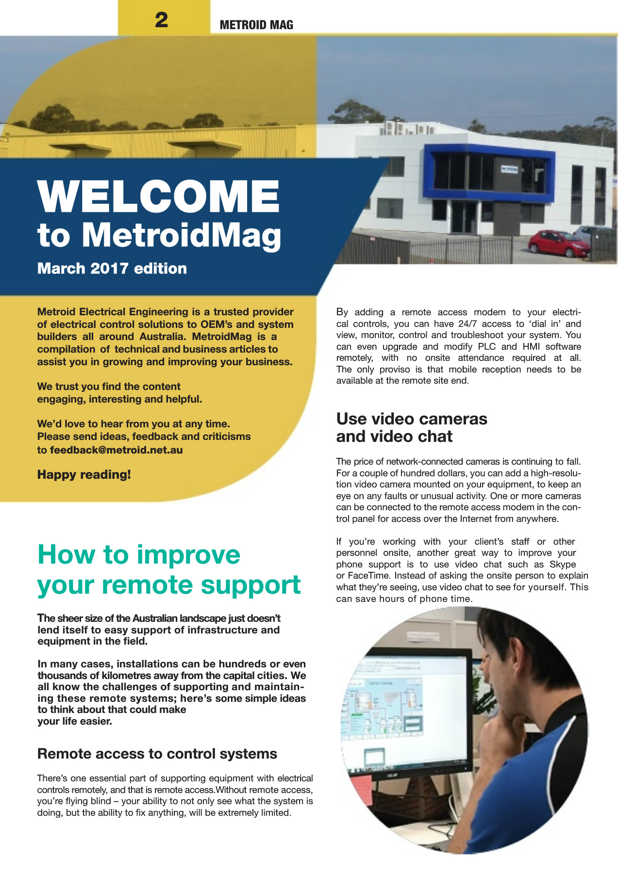 Metroid Mag - March 2017 - Metroid Electrical Engineering