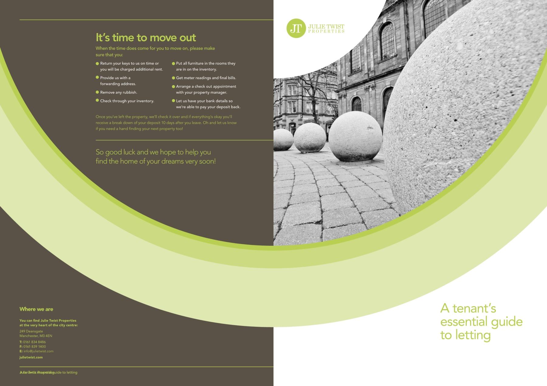 Design Bank Twist.Julie Twist Tenants Guide