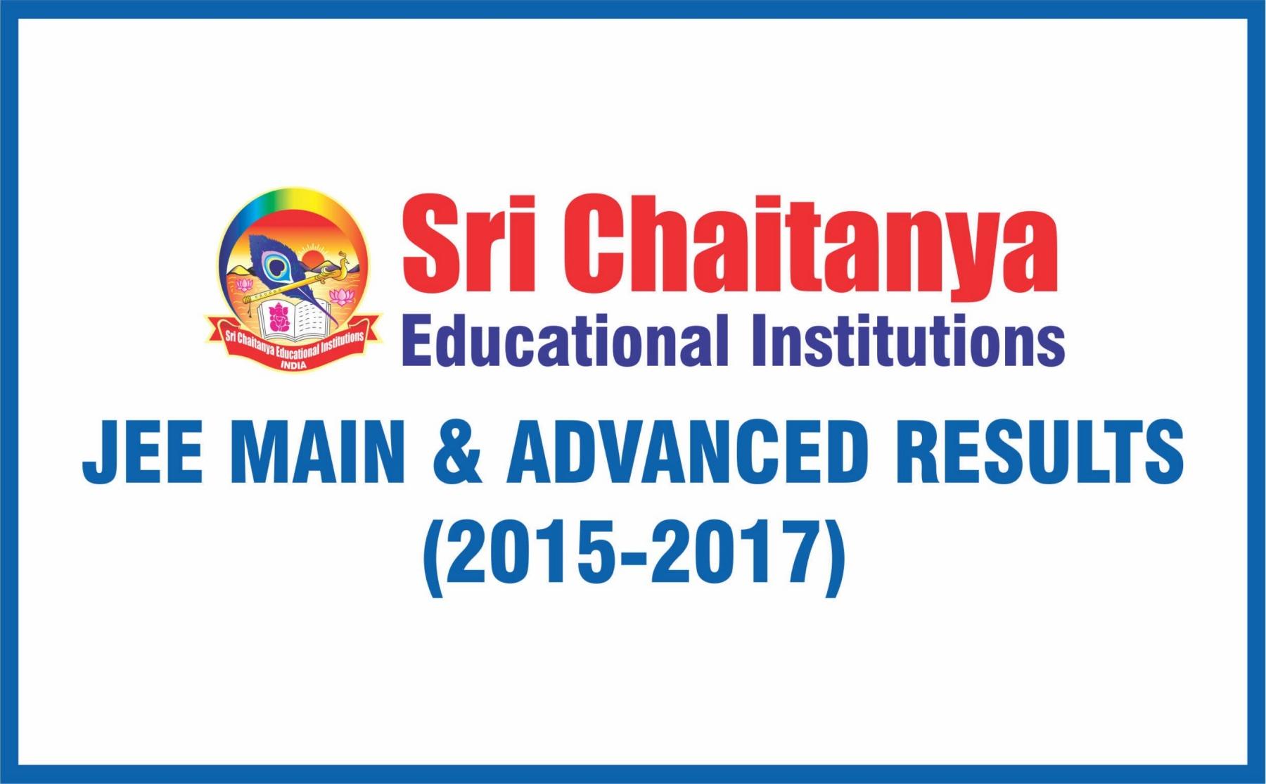 JEE Main & Advanced Results - Sri Chaitanya