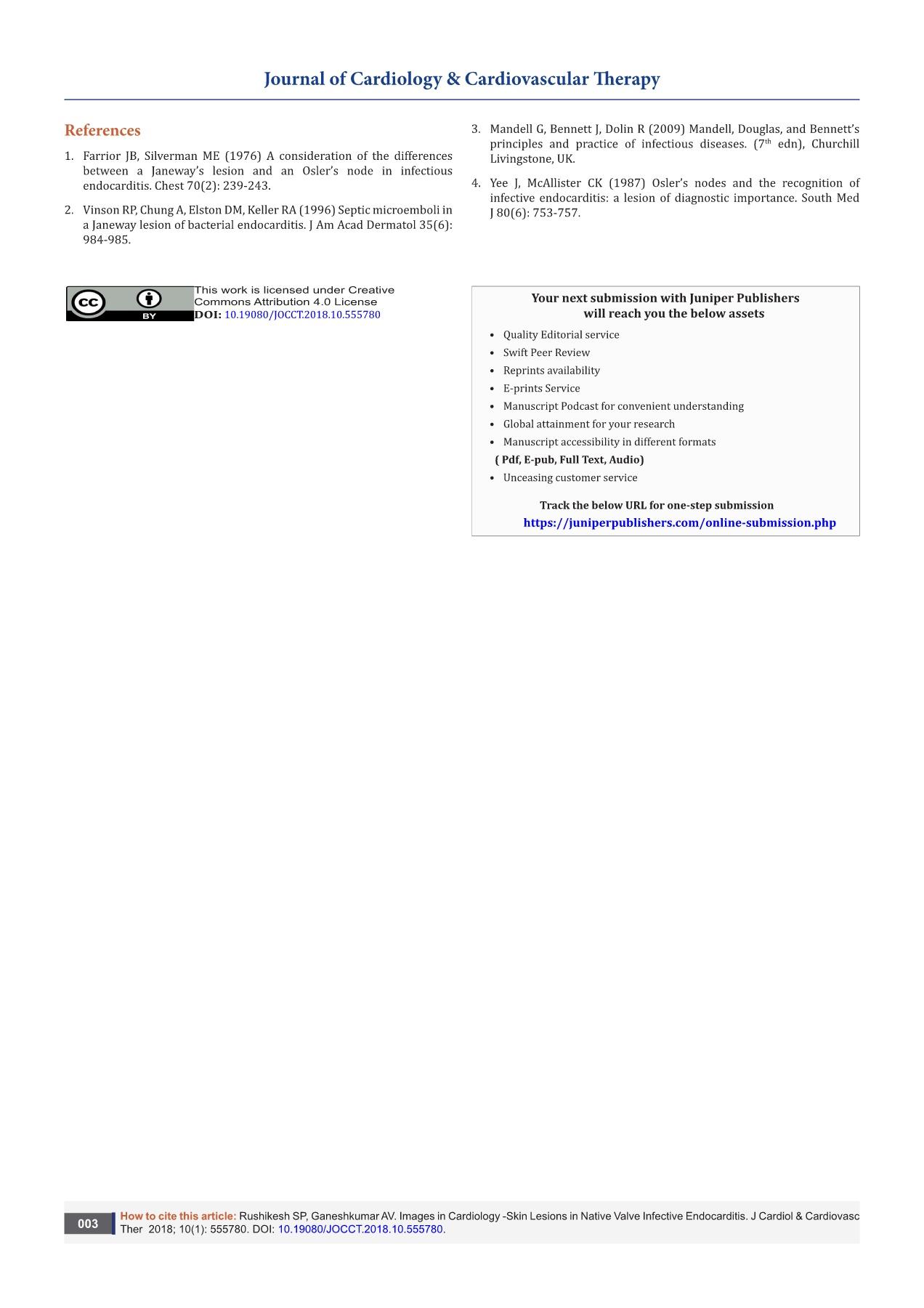 Open Access | Online Journals | Reprints | Juniper Publishers