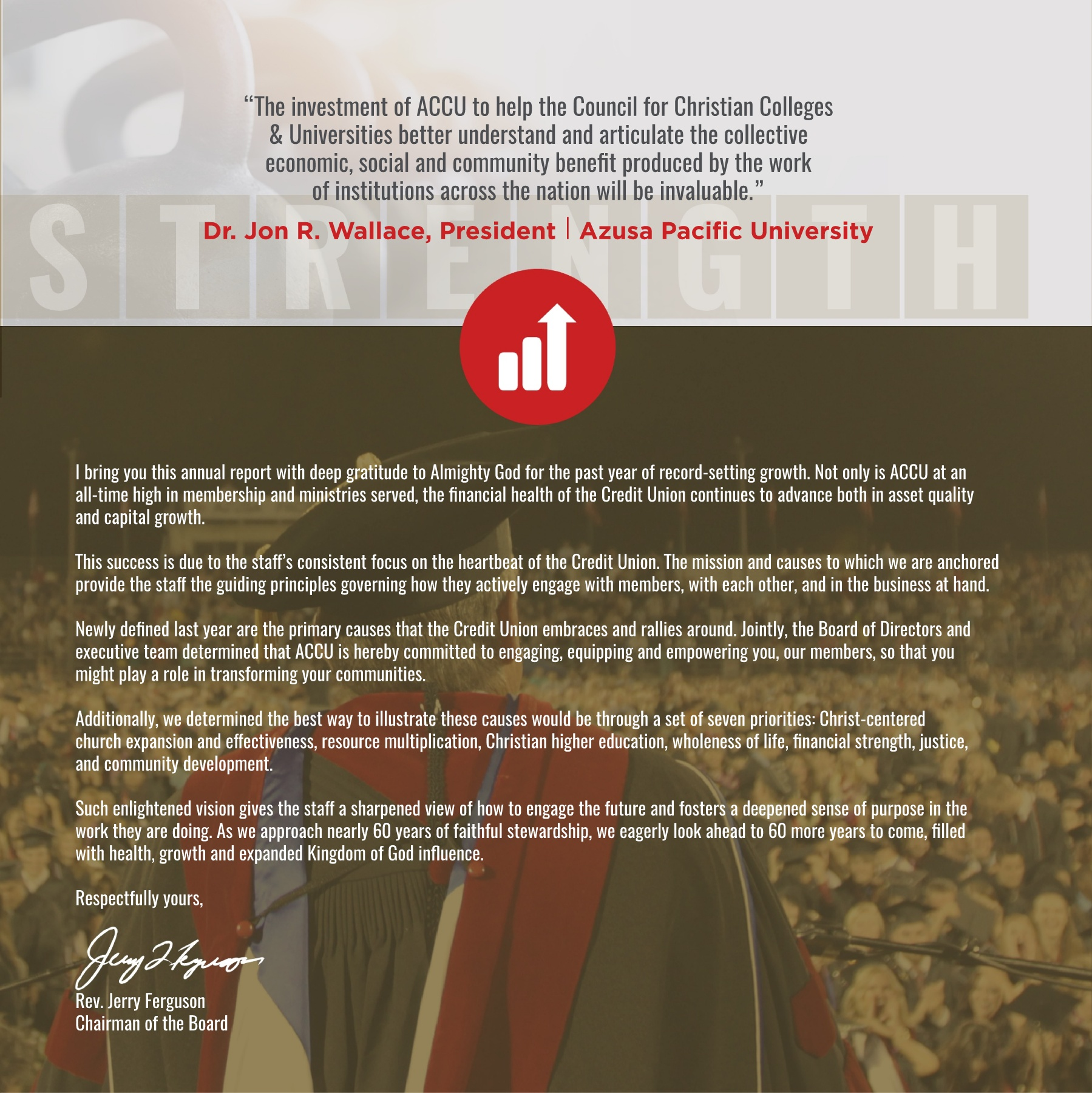 Financial Statements Americas Christian Credit Union