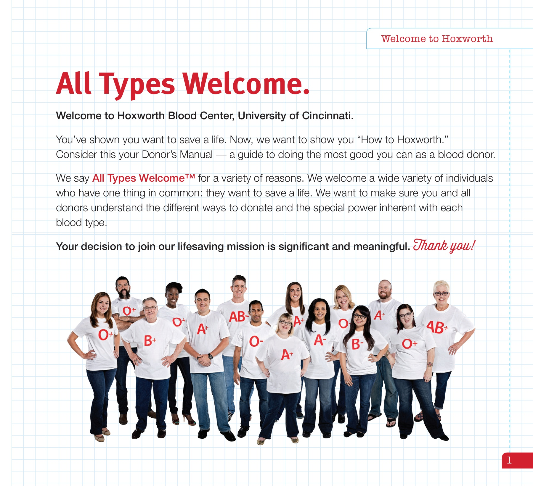 General Info For First Time Donors University Of Cincinnati Uc Flex