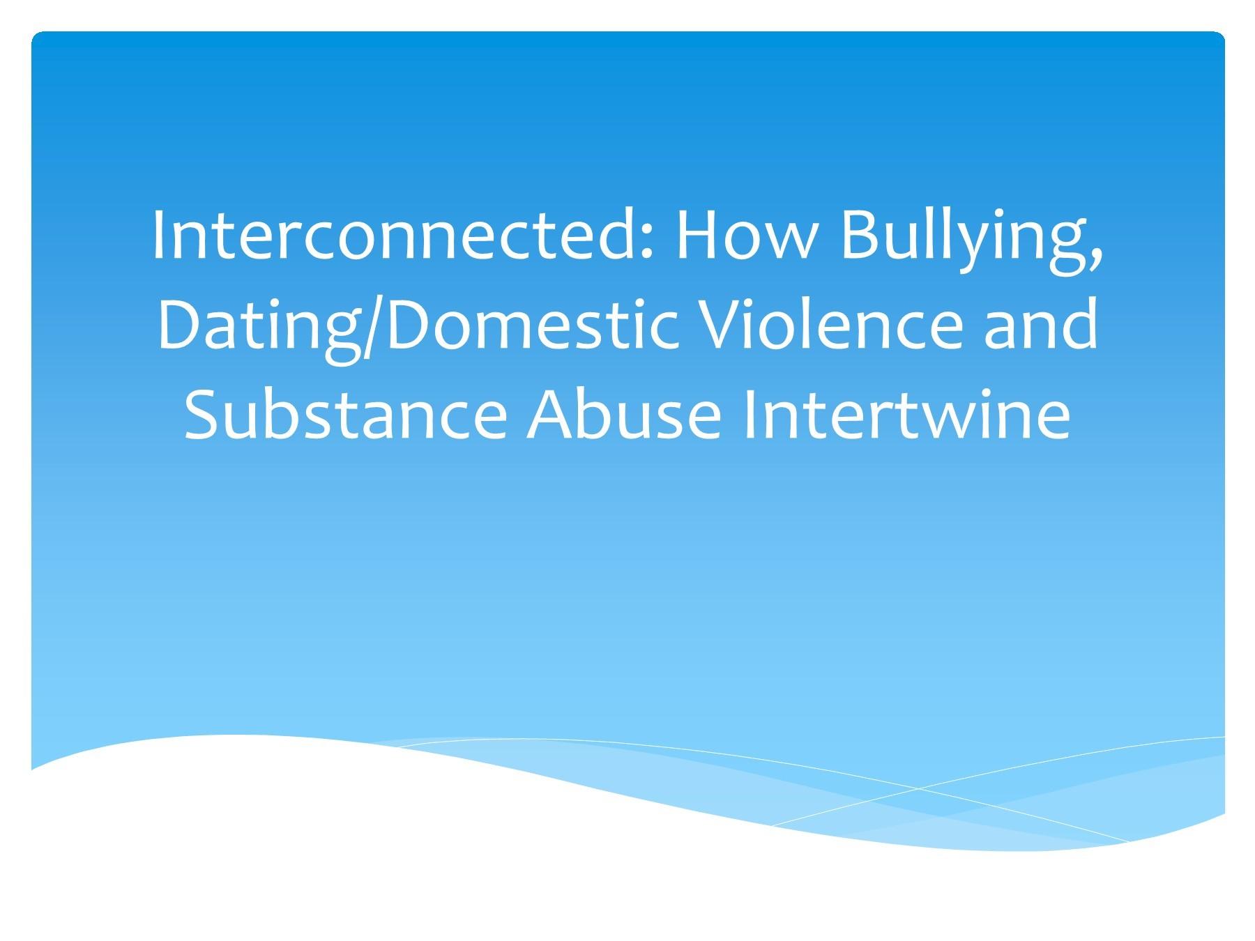 dating bullying